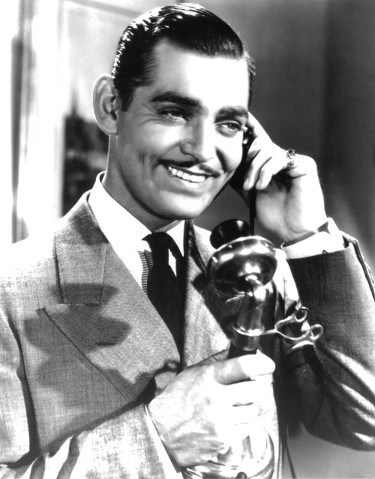 Clark Gable unsigned Vintage B&W 8x10 Photo