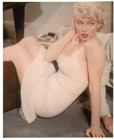 Marilyn Monroe unsigned Vintage Color 8x10 Poster Card/Photo (The Seven Year Itch)
