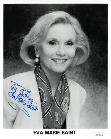 Eva Marie Saint signed Vintage B&W 8x10 Photo To John- JSA Hologram #DD39202 (On the Waterfront)