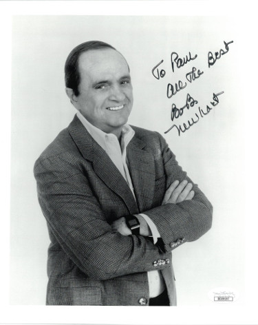Bob Newhart signed The Bob Newhart Show Vintage B&W 8x10 Photo To Bob All the Best- JSA Hologram #DD39197