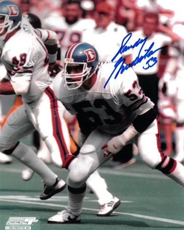 Randy Gradishar signed Denver Broncos 8x10 Photo #53
