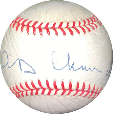 "AB ""Happy"" Chandler signed RONL Rawlings Official National League Baseball- JSA Hologram #EE41694"