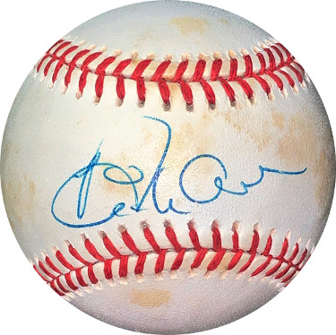 Dick Allen signed ROAL Rawlings Official American League Baseball minor tone spots- JSA Hologram #EE41835 (Chicago White Sox)