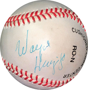Wayne Huizenga signed RONL Rawlings Official National League Baseball light sig- JSA #EE41809 (Dolphins/Marlins/Panthers Owner)