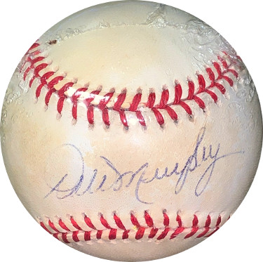 Dale Murphy signed RONL Rawlings Official National League Baseball toned- JSA Hologram #EE41761 (Atlanta Braves)