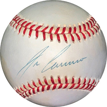 Jose Canseco signed ROAL Rawlings Official American League Baseball minor spots- JSA Hologram #EE41708 (A's/Rangers/Red Sox)