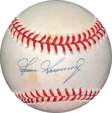 Goose Gossage signed ROAL Rawlings Official American League Baseball minor spots- JSA Holo #EE41711 (New York Yankees)