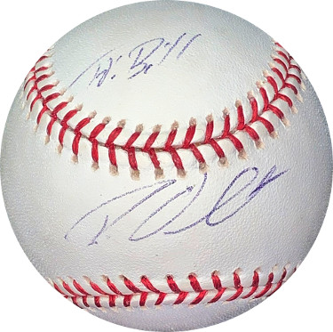 Roy Oswalt signed Rawlings Official Major League Baseball To Bill- JSA Hologram #EE63129 (Astros/Phillies/Rangers)