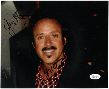 Jimmy Hart signed Wrestling 8x10 Photo minor bend- JSA #AA38330 (WCW/WWE Legend)