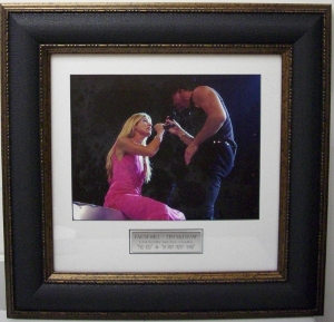 Faith Hill & Tim McGraw 11x14 Photo Premium Leather Framing