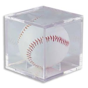 Baseball Display Case- Case of 6