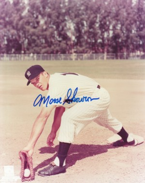 "Bill ""Moose"" Skowron signed  New York Yankees 8x10 Photo (deceased)"