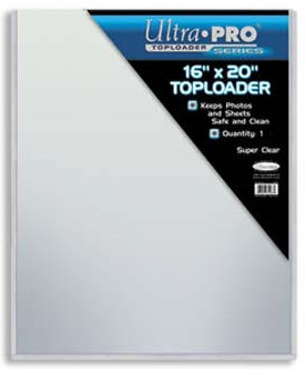 Ultra Pro Toploader for 16X20 Photo Protection- 5 Pack