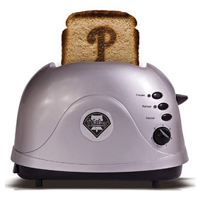 Philadelphia Phillies unsigned ProToast Toaster