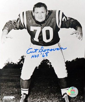 Art Donovan signed Baltimore Colts 16X20 Photo HOF 68- Ironclad Hologram