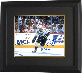 Adam Oates signed Washington Capitals 8x10 Photo Custom Framed HOF 12- Tri-Star Hologram