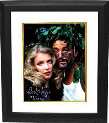 "Cindy Morgan signed Caddyshack 16X20 Photo Custom Framing Inscribed ""Lacey"" w/ Bill Murray (entertainment)"