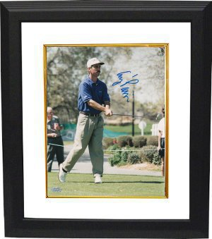 Corey Pavin signed 8x10 Photo Custom Framed- Mounted Hologram