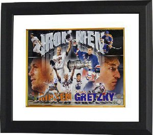Wayne Gretzky unsigned Cal Ripken, Jr. signed Ironman 16x20 Custom Framed- MLB Hologram