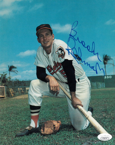 Brooks Robinson signed Baltimore Orioles 8x10 Photo- JSA Hologram
