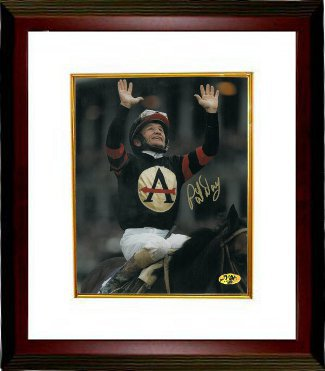 Pat Day signed 1998 Breeders' Cup Classic at Churchill Downs Horse Racing 8x10 Photo Custom Framed