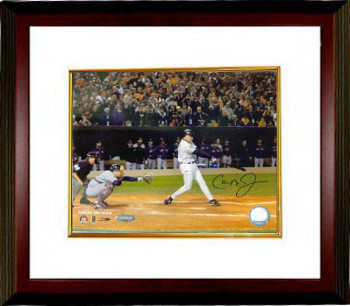 Cal Ripken, Jr. signed Baltimore Orioles 8x10 Photo Custom Framing (Last At Bat)- BAS-Beckett Hologram