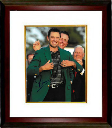 Charl Schwartzel signed PGA 11X14 Photo Custom Framing - JSA Hologram (w/ Phil Mickelson)(2011 Augusta National Masters Champion