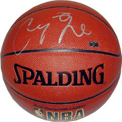 Channing Frye signed Indoor/Outdoor Basketball- Steiner Hologram (Arizona Wildcats/Phoenix Suns)