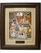 Cal Ripken, Jr. signed Baltimore Orioles Collage 16x20 Photo Premium Leather Framing w/ HOF 2007- Ripken Hologram