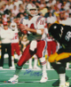 Steve Grogan signed New England Patriots 16X20 Photo (vs Steelers)