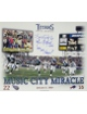 Music City Miracle signed Tennessee Titans 16X20 Photo w/ Music City Miracle/99 AFC Champs w/ Kevin Dyson sig- JSA Holo