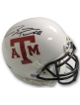 Ryan Tannehill signed Texas A&M Aggies Authentic White TB Schutt Mini Helmet- Upper Deck Hologram