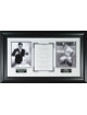 Yogi Berra New York Yankees Vintage 2 Photo YOGI-ISMS 34X21 Custom Framing