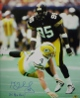 Greg Lloyd signed Pittsburgh Steelers 16X20 Photo 5 x Pro Bowl