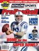 Peyton Manning unsigned Indianapolis Colts 2011 Athlon Sports NFL Pro Football Magazine Preview