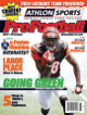 AJ Green unsigned Cincinnati Bengals 2011 Athlon Sports NFL Pro Football Magazine Preview