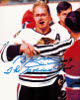 "Bobby Hull signed Chicago Blackhawks 8x10 Photo ""The Golden Jet"" Blood"