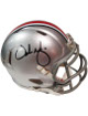 Urban Meyer signed Ohio State Buckeyes Riddell NCAA Speed Mini Helmet- Meyer Hologram