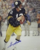 Terry Bradshaw signed Pittsburgh Steelers 16x20 Photo in the Snow- JSA Hologram