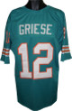 Bob Griese Teal TB Custom Stitched Pro Style Football Jersey XL