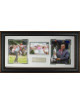 Rory McIlroy 2014 British Open 17x35 -Three Golf Photos - Premium Leather Framing