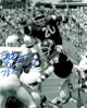 Billy Sims signed Oklahoma Sooners Vintage B&W 16x20 Photo 78 Heisman