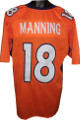 Peyton Manning Orange Custom Stitched Pro Style Football Jersey XL