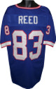 Andre Reed  Blue TB Custom Stitched Pro Style Football Jersey XL