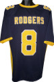Aaron Rodgers Navy TB Custom Stitched College style Football Jersey XL