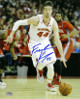 Frank Kaminsky signed Wisconsin Badgers 16x20 Photo (white jersey)