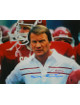 Barry Switzer signed Oklahoma Sooners 16X20 Color Photo (Close Up)