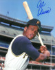 Al Oliver signed Pittsburgh Pirates 8x10 Photo (bat on shoulder)