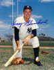 Johnny Blanchard signed New York Yankees 8x10 Photo (on knee - deceased)