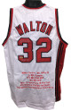 Bill Walton signed White TB Custom Stitched Basketball Jersey HOF 93 w/ Embroidered Stats XL